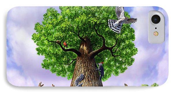 Tree Of Life Phone Case by Jerry LoFaro