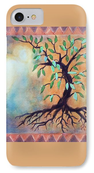 Tree Of Life Phone Case by Kathy Braud