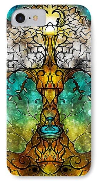 Tree Of Life Phone Case by Mandie Manzano