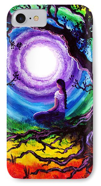 Tree Of Life Meditation Phone Case by Laura Iverson