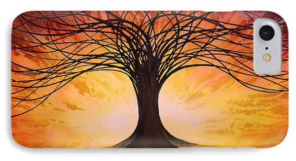 Tree Of Life Phone Case by Michael Lang