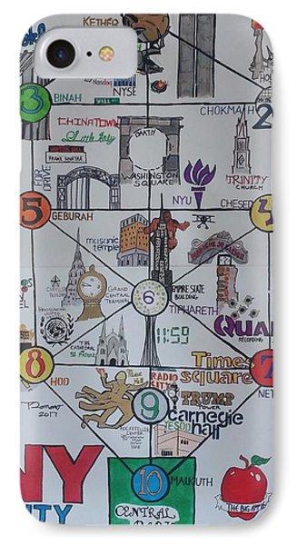 Tree Of Life Nyc  IPhone Case by Trevor Romano