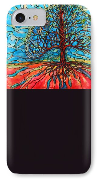 Tree Of Life IPhone Case by Rae Chichilnitsky