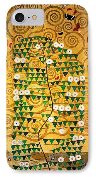 Tree Of Life Stoclet Frieze Phone Case by Gustav Klimt