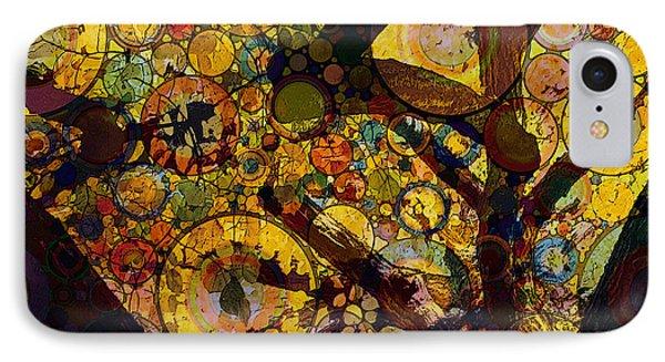 IPhone Case featuring the digital art Tree Of Prosperity by Klara Acel