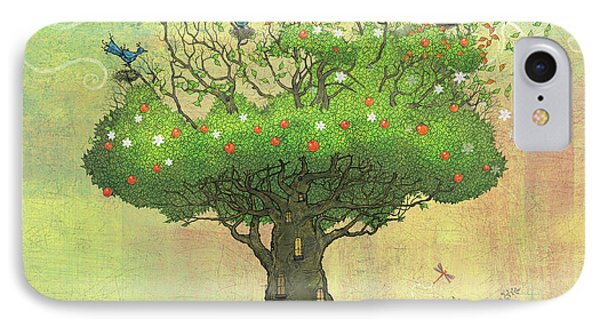 Tree Of Seasons IPhone Case by Dennis Wunsch