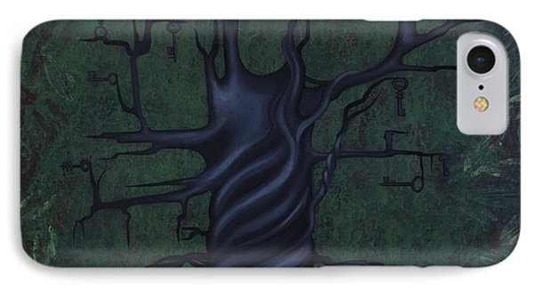 Tree Of Secrets IPhone Case by Kelly Jade King