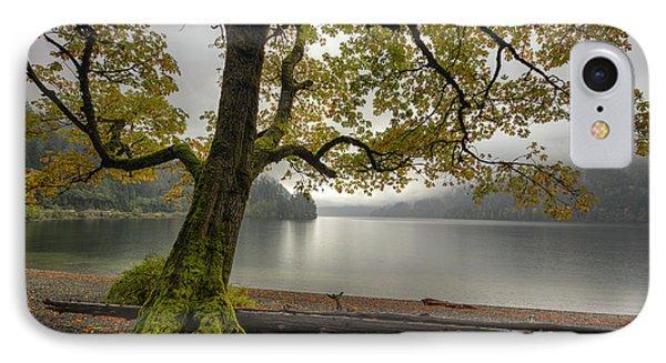 Tree On Cameron Lake IPhone Case