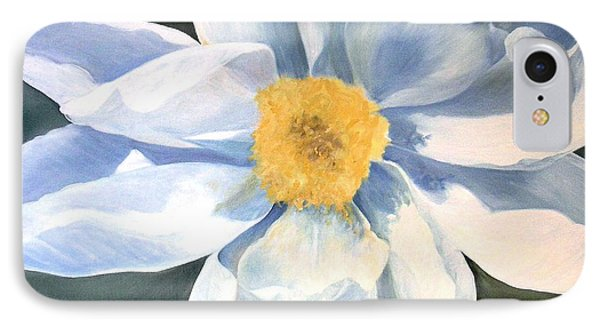 IPhone Case featuring the painting Tree Peony by Laurie Rohner