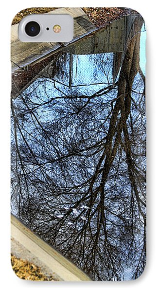 Tree Reflection From No Where Photography Image Phone Case by James BO  Insogna