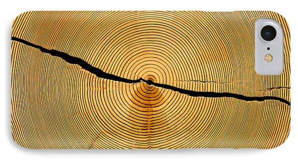 Tree Rings IPhone Case by Steven Ralser