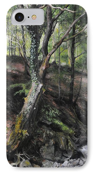 Tree River Wood IPhone Case