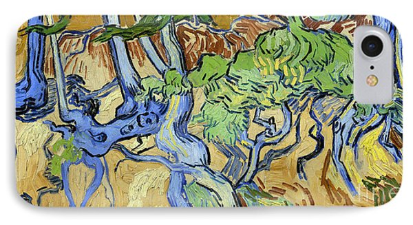 Tree Roots IPhone Case by Van Gogh