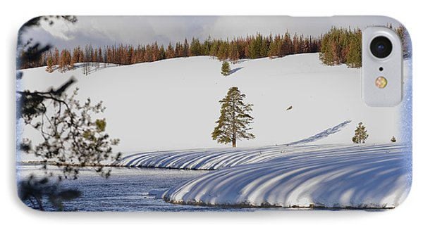 IPhone Case featuring the photograph Tree Shadows Along The Madison by Kae Cheatham