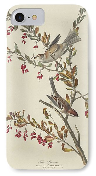 Tree Sparrow IPhone 7 Case by Rob Dreyer