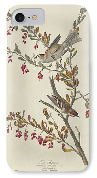 Tree Sparrow IPhone 7 Case