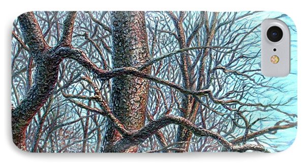Tree Study IPhone Case by Hans Droog