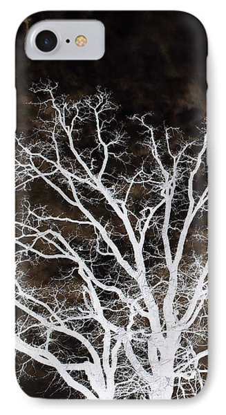 IPhone Case featuring the photograph Tree Top Left Diptych by Ellen Barron O'Reilly