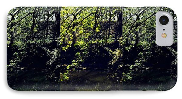 Tree Triptych IPhone Case