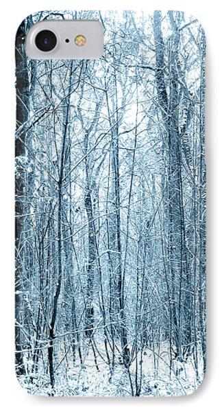 Tree Trunks Pattern Phone Case by Svetlana Sewell