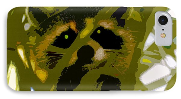 Treed Raccoon IPhone Case by David Lee Thompson