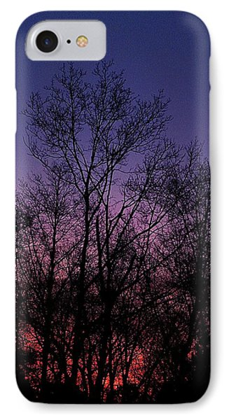 Treeform IPhone Case by Rachelle Johnston