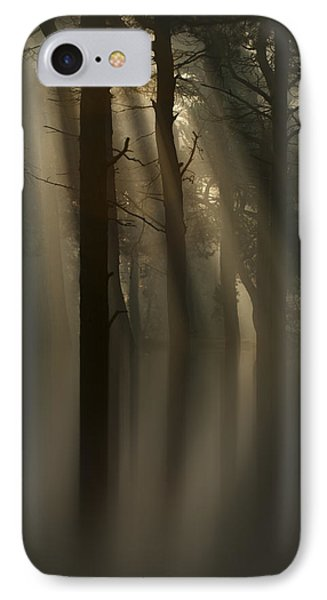 Trees And Light Phone Case by Andy Astbury