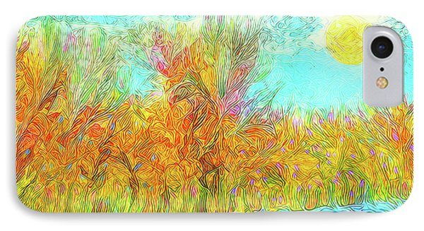 IPhone Case featuring the digital art Trees Flow With Sky - Boulder County Colorado by Joel Bruce Wallach