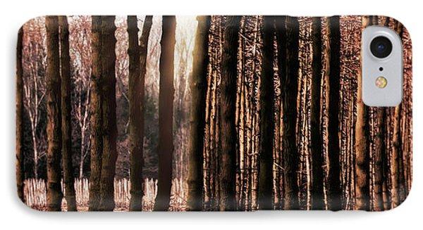 Trees Gathering Phone Case by Wim Lanclus