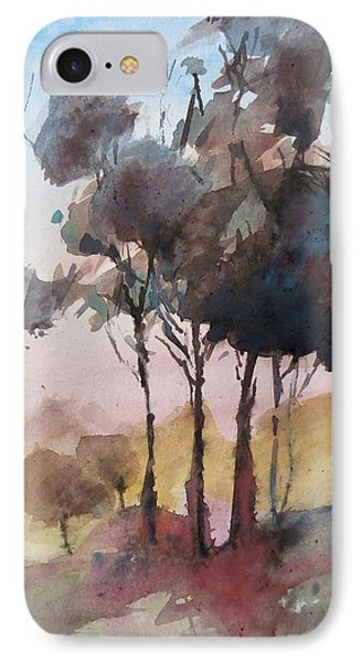 Trees IPhone Case by Geni Gorani