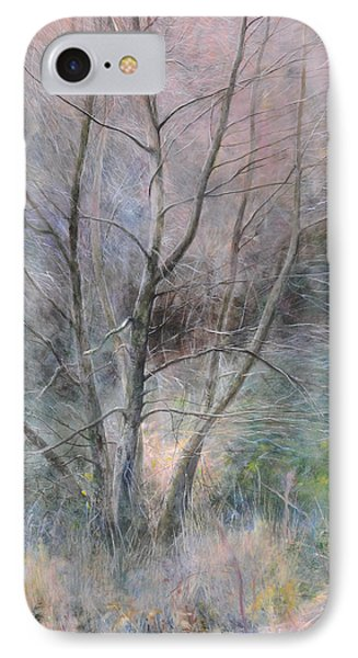 Trees In Light IPhone Case
