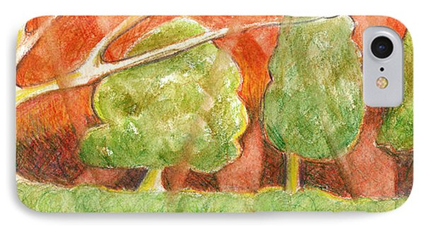 Trees In Light Phone Case by Linda Kay Thomas
