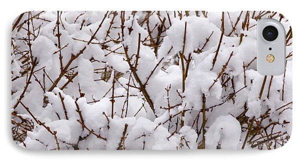 Trees In Snow IPhone Case by Unknown