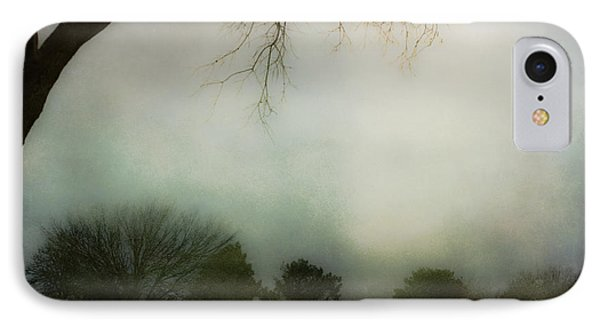 Trees In The Mist IPhone Case by Jill Smith
