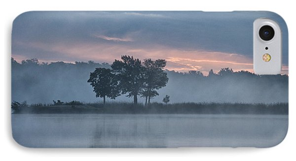 Trees In The Mist IPhone Case