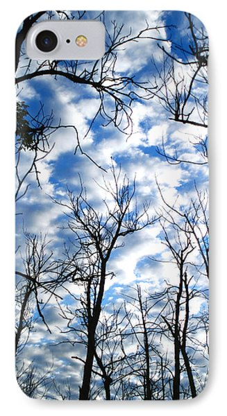 IPhone Case featuring the photograph Trees In The Sky by Shari Jardina