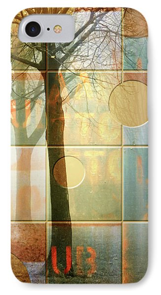 Trees Lub Left IPhone Case by Joan Ladendorf