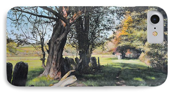 Trees Near Rhug. Phone Case by Harry Robertson