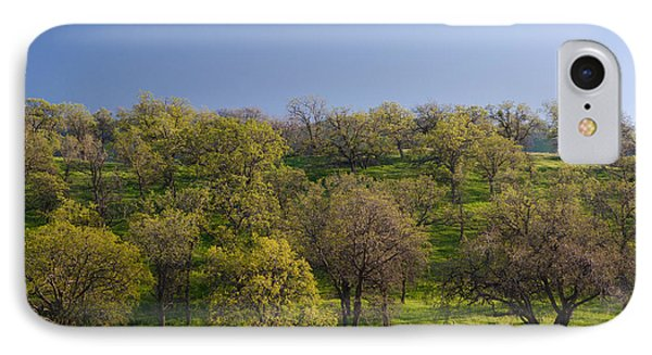 Trees On Hillside IPhone Case