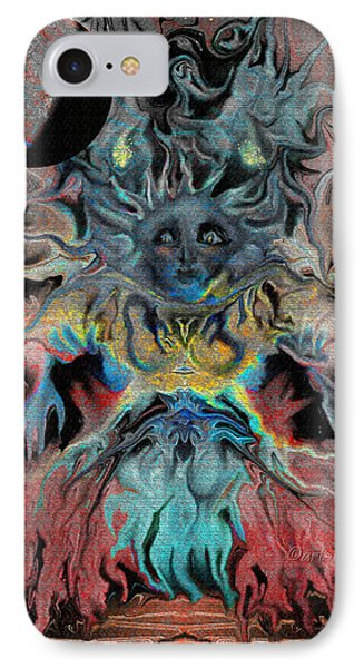 Treewoman Awakens Phone Case by Mimulux patricia no No