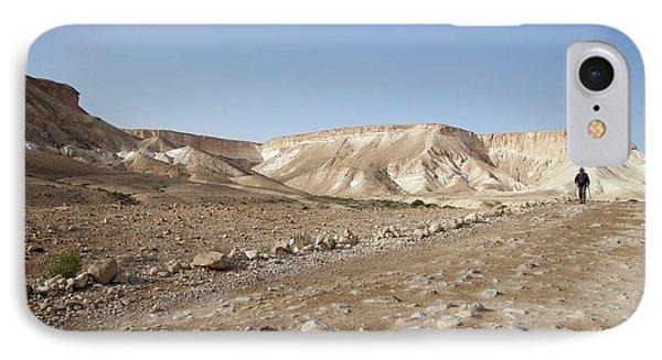 Trekker Alone On The Wild Way IPhone Case