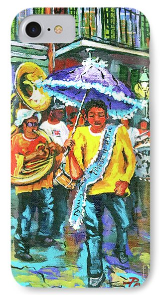 Treme Brass Band Phone Case by Dianne Parks