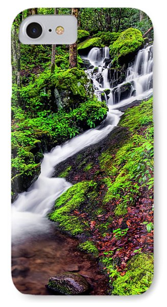 Tremont Area Waterfall Phone Case by Madonna Martin