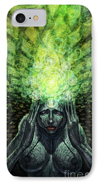 Trepidation Of Existence IPhone Case by Tony Koehl