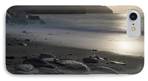 IPhone Case featuring the photograph Photographs Of Cornwall Trevellas Cove Cornwall by Brian Roscorla