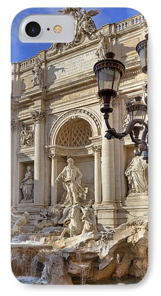 Trevi Fountain Rome IPhone Case by Joana Kruse