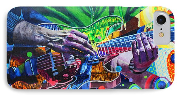 Trey Anastasio 4 IPhone Case by Kevin J Cooper Artwork