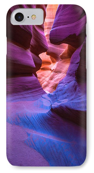 Tri-color- Lower Antelope Canyon IPhone Case by Tim Bryan