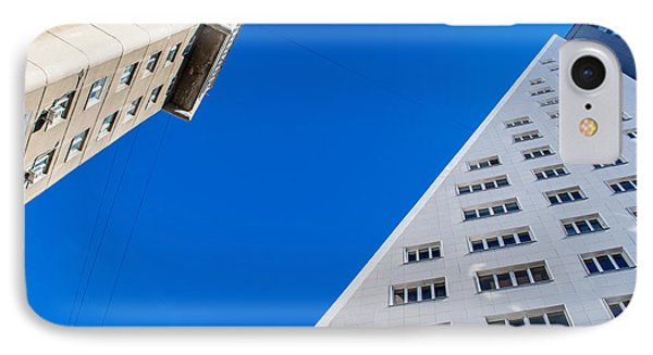 Triangle Modern Building IPhone Case by John Williams