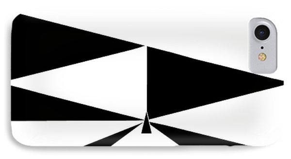 Triangles 2 Phone Case by Eloise Schneider